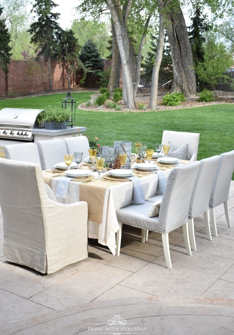 Outdoor Alfresco Dining Ideas - Home with Holliday