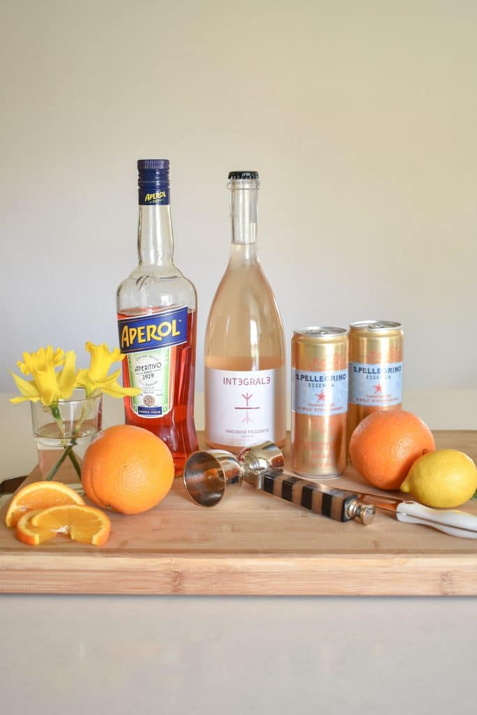 Sparkling Rose Aperol Spritz Recipe - Home with Holliday