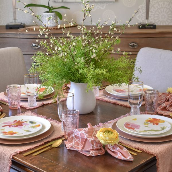 Spring Tablescape for Mother's Day