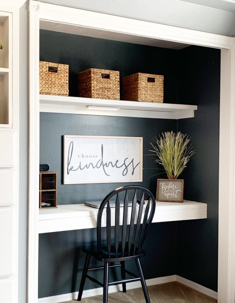 A few More Ways to Repurpose a Closet - Home with Holliday