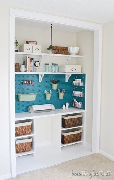 Some More Ways to Repurpose a Closet - Home with Holliday
