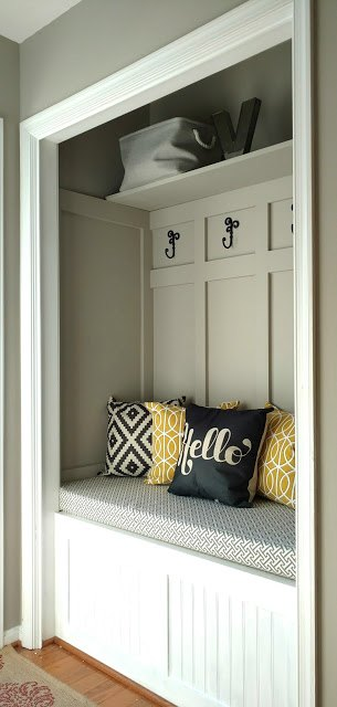 More Ways to Repurpose a Closet - Home with Holliday