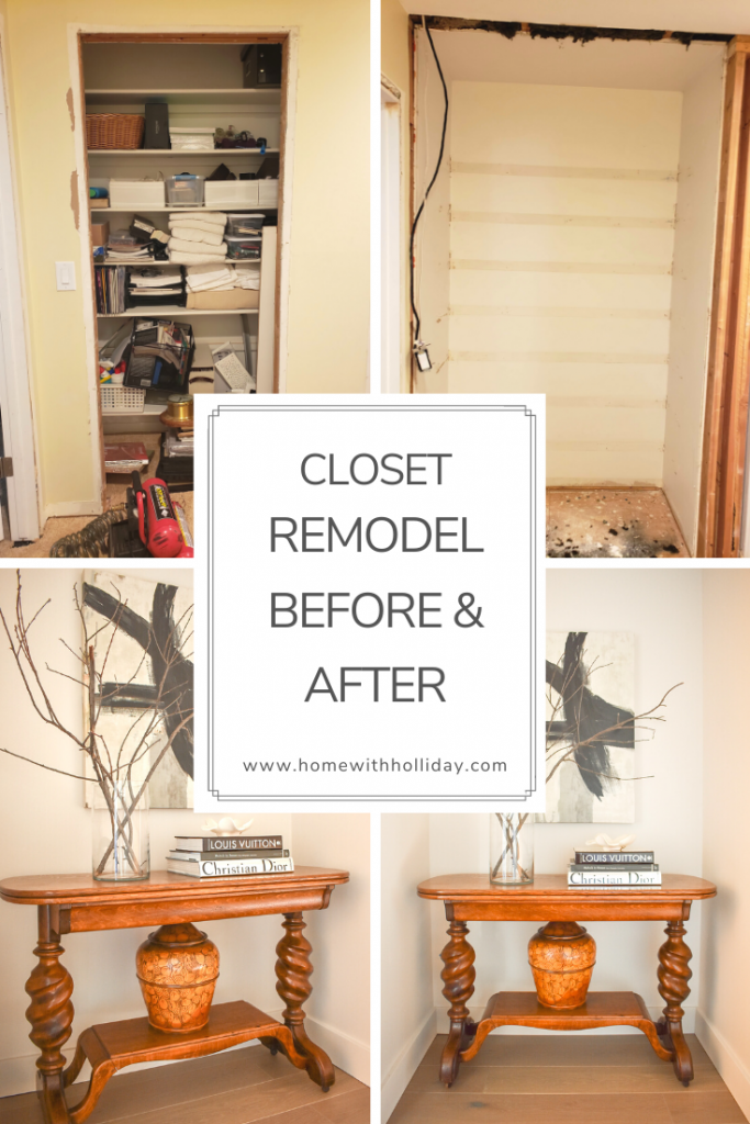 Ways to Repurpose a Closet - Home with Holliday