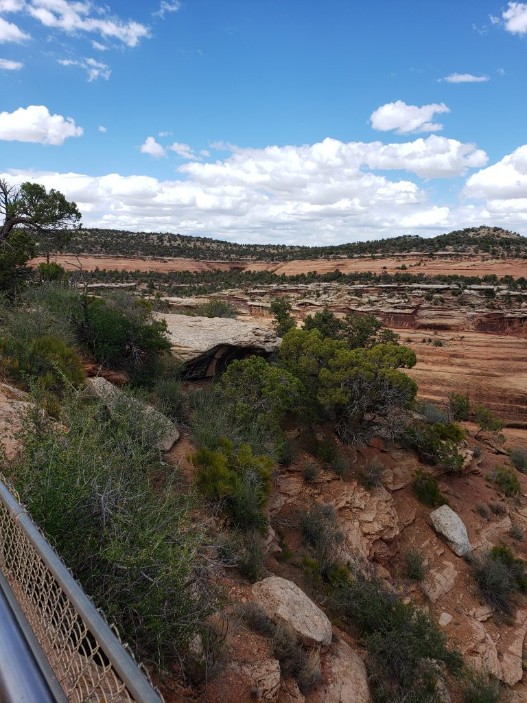 Views of the rock formations in the Colorado National Monument