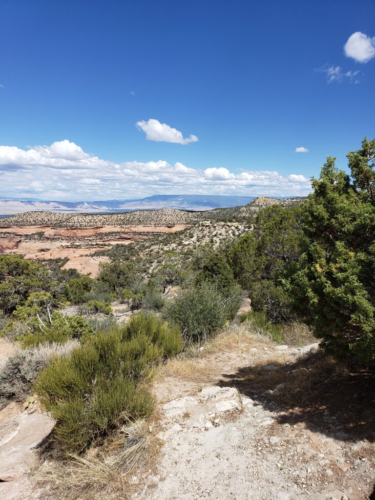 A view of the Grand Mesa in Grand Junction, CO