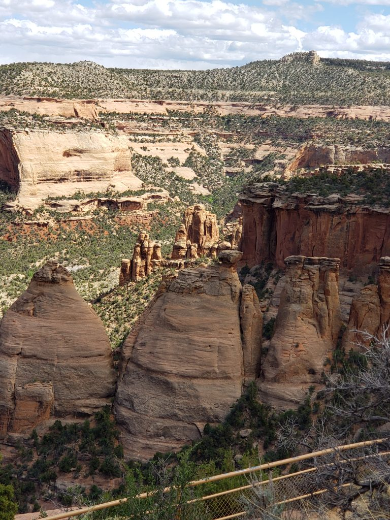 View of Coke Ovens in the Colorado National Monument Park