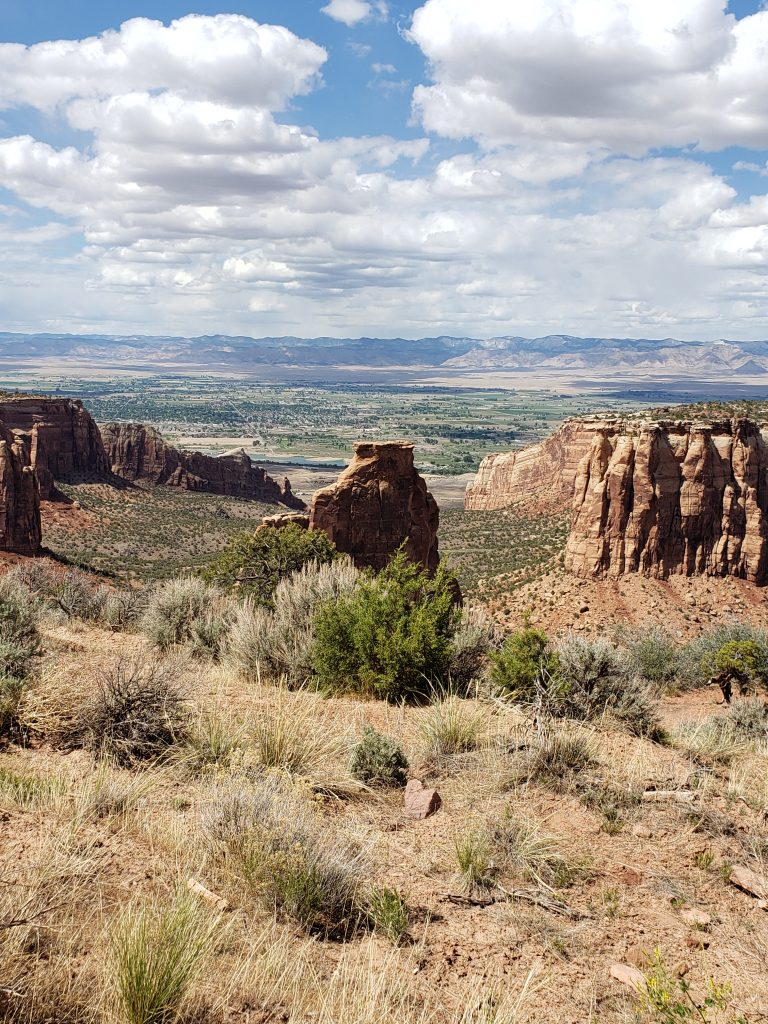 A view of the Colorado National Monument Rock Formation