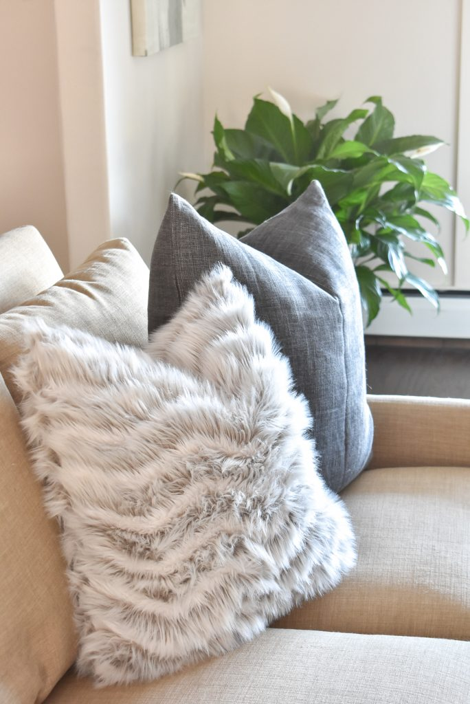 Cozy pillows to help Transition your Decor from Christmas to Winter Tips to Transition your Decor from Christmas to Win