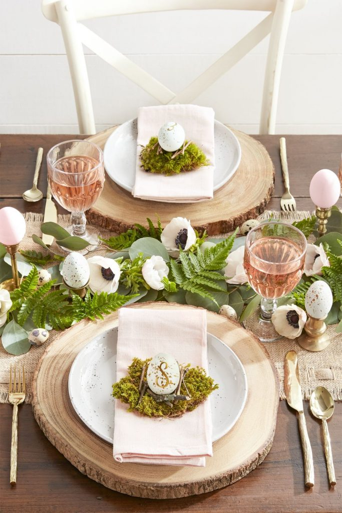 Ways to use Moss in your Spring Decor or Easter decorations