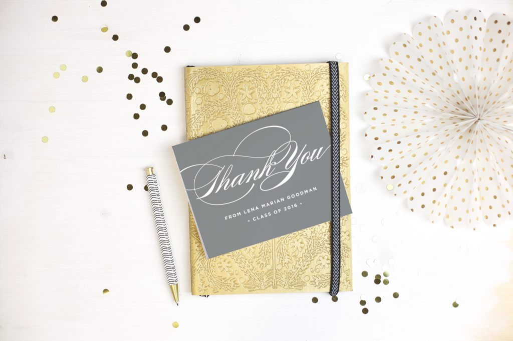 Sample of a Thank You note
