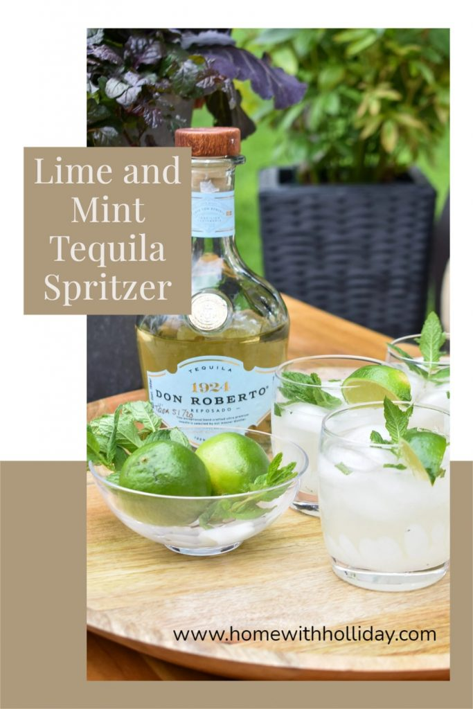 Lime and Mint Tequila Spritzer Recipe