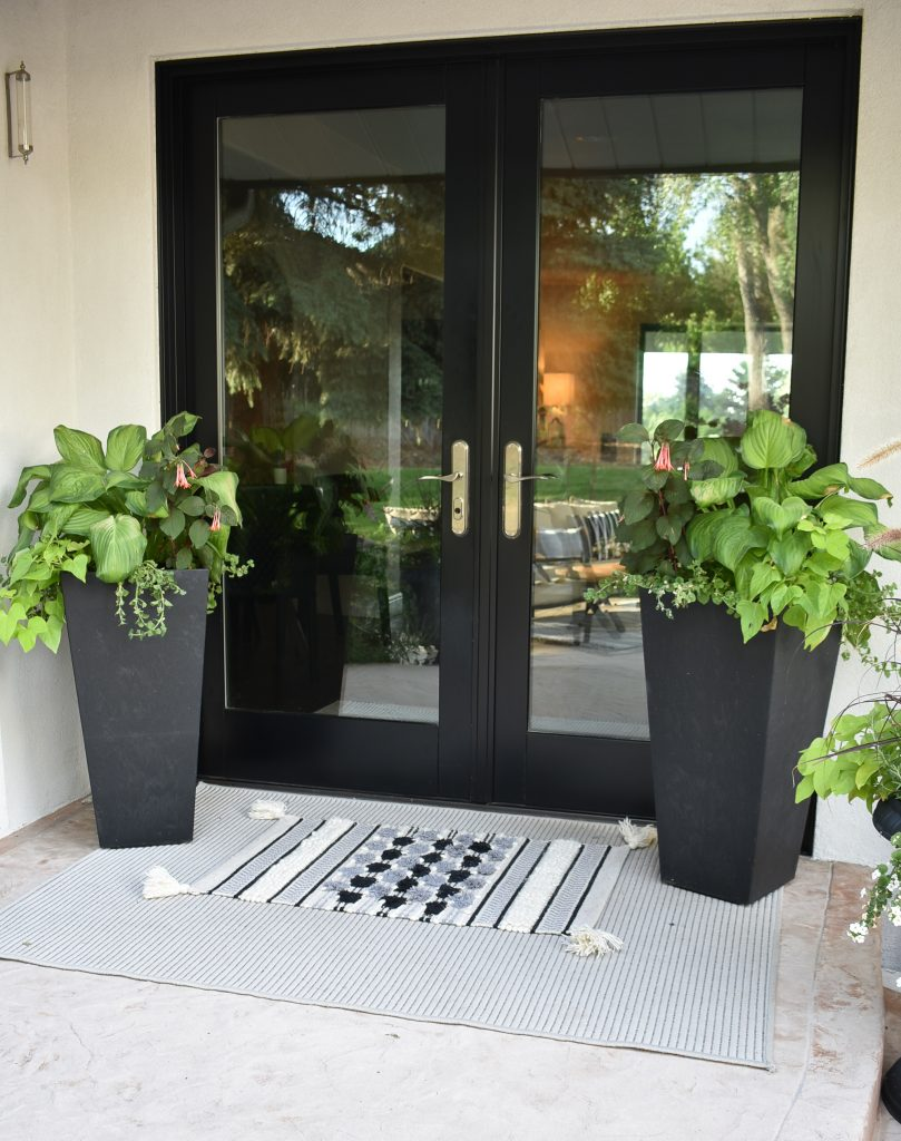 Potted Planters for a shaded patio
