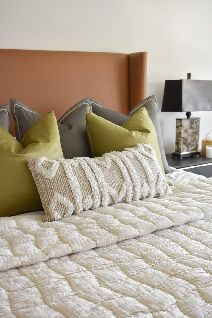 Bedding for a Classic Contemporary Master Bedroom Reveal
