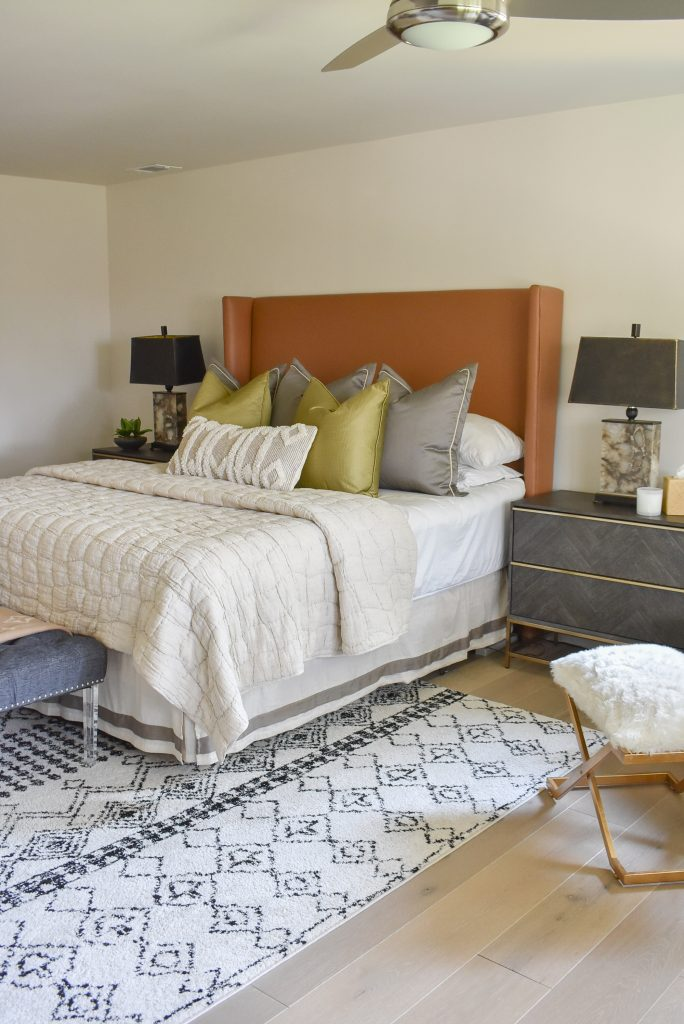 Our Classic Contemporary Master Bedroom Reveal