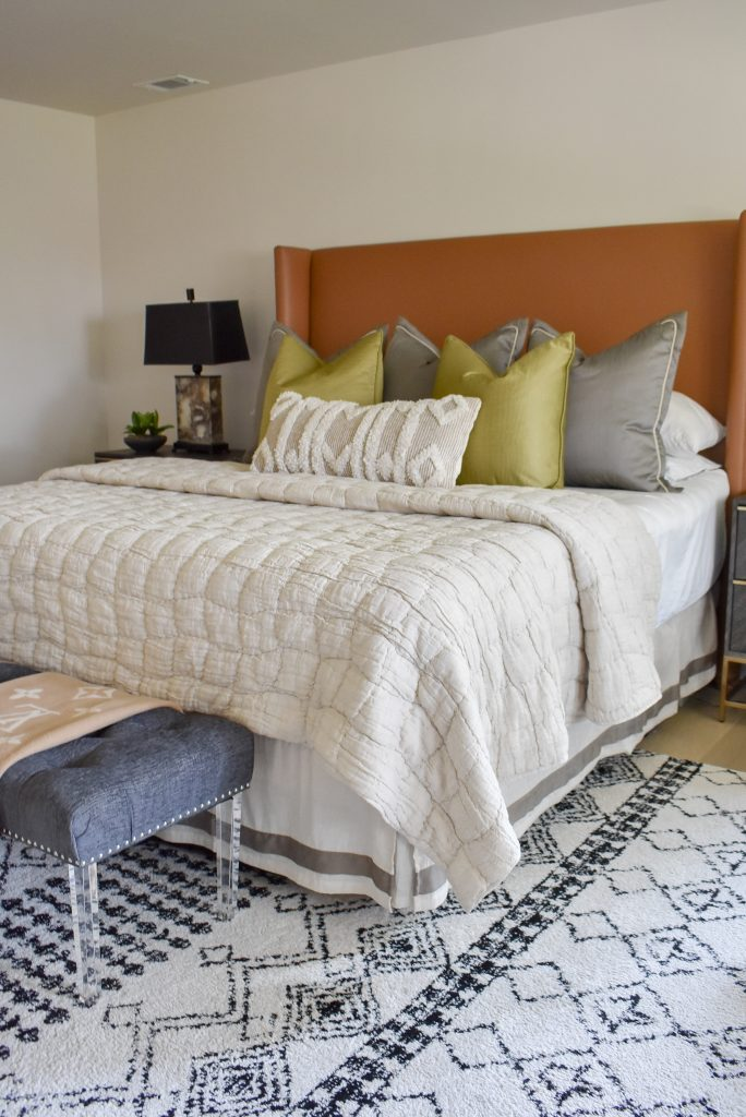 A Classic Contemporary Master Bedroom Reveal