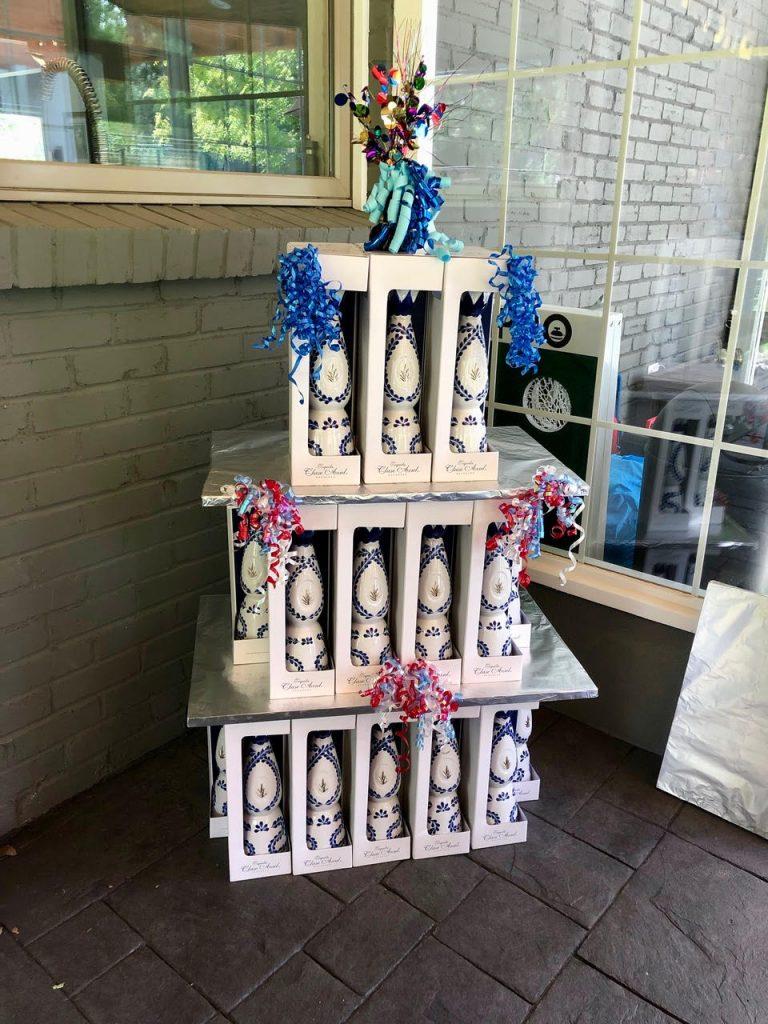 Azul Tequila Tower Birthday Present